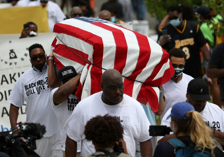Americans march for racial justice on Juneteenth anniversary