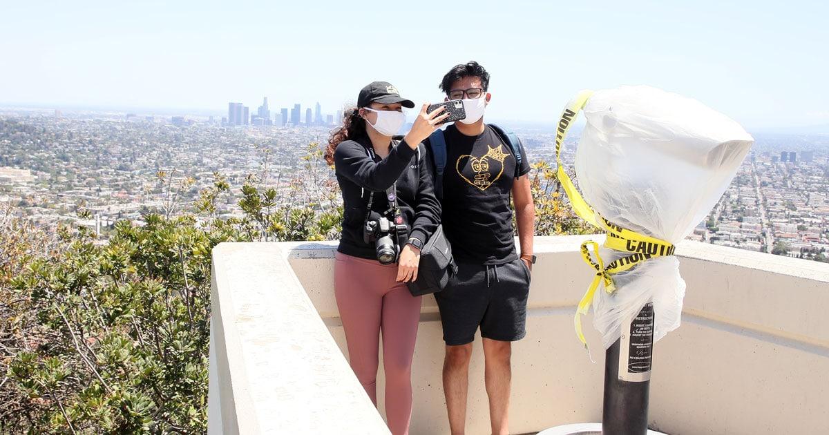 Face Masks Are Now Mandatory In California As Coronavirus Cases Rise