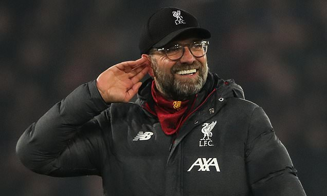 Jurgen Klopp says he would welcome Liverpool being called the 'asterisk champions'