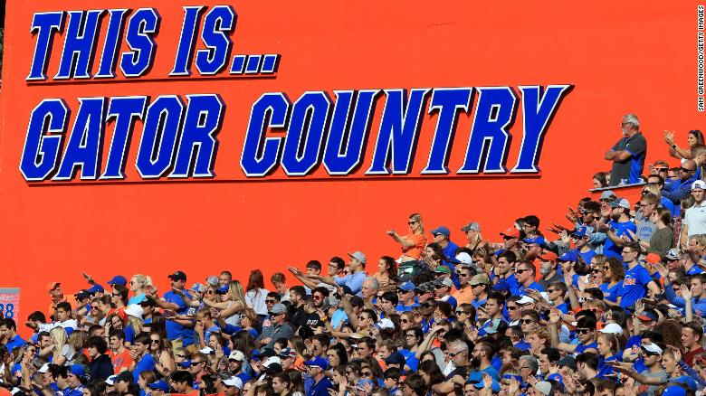 Florida will ban its 'Gator Bait' cheer due to the phrase's racist history