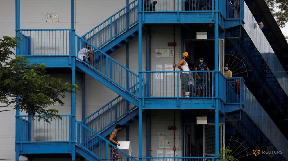 70% to 80% of migrant workers in dormitories expected to be COVID-19 free by end-July: Lawrence Wong