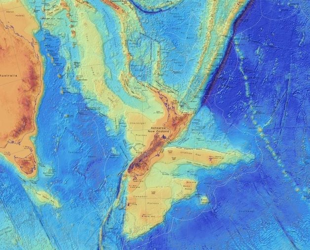 Lost continent of Zealandia mapped in unprecedented detail