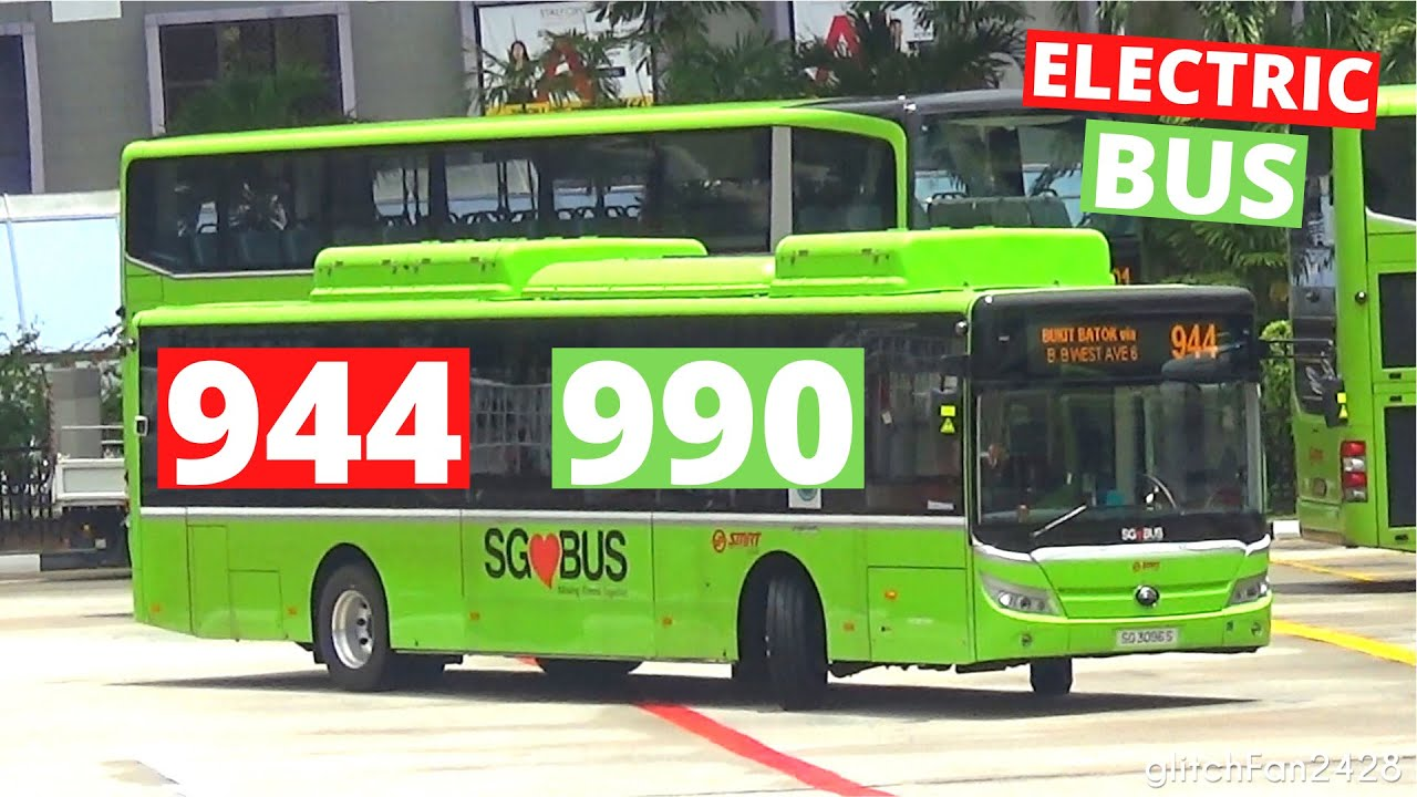 [SMRT/TTS] Services & - New Yutong Electric Buses First Day of Revenue Service