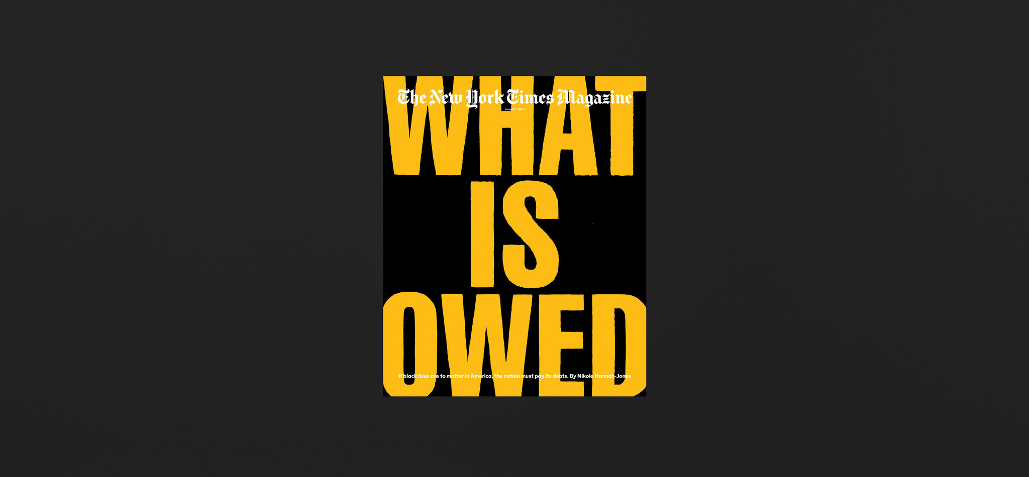 Behind the Cover: What Is Owed