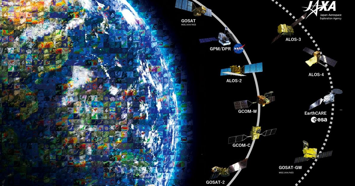 Satellites documented COVID-19's impact from space
