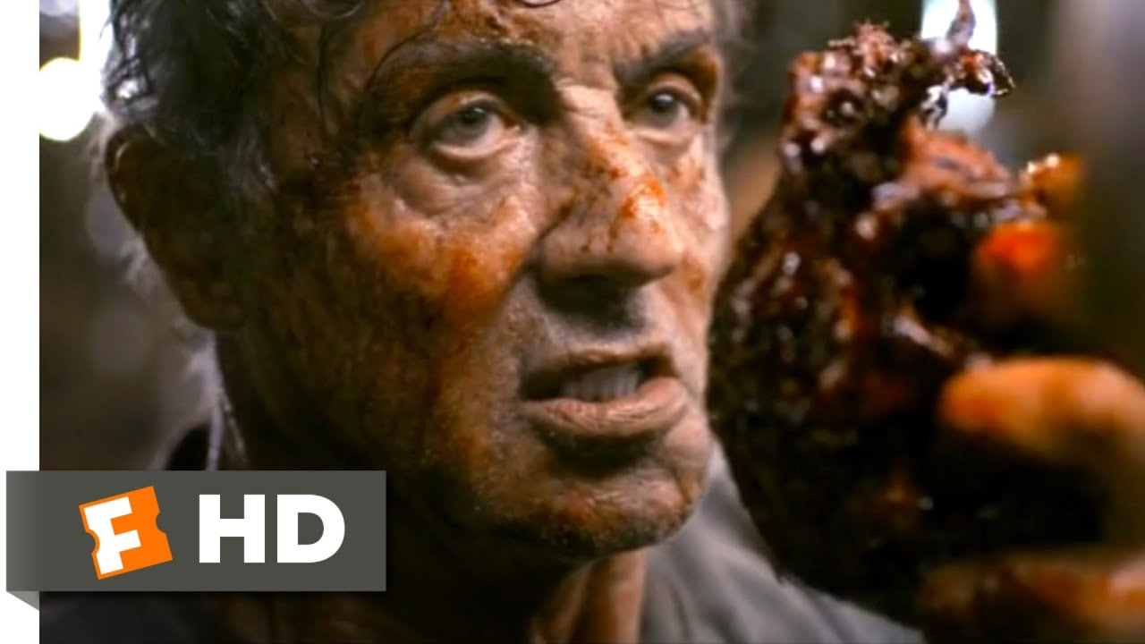 Rambo: Last Blood (2019) - Ripping His Heart Out Scene (10/10) | Movieclips