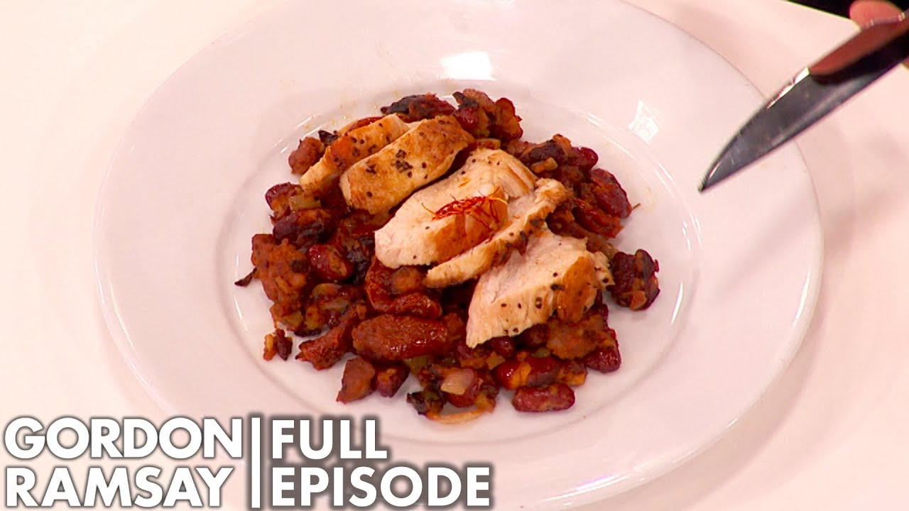 Chef's Battle In A Chicken Cook Off | Culianry Genius