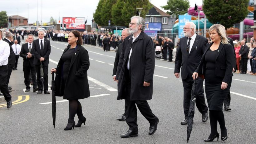 Bobby Storey funeral: PPS does not recommend prosecutions