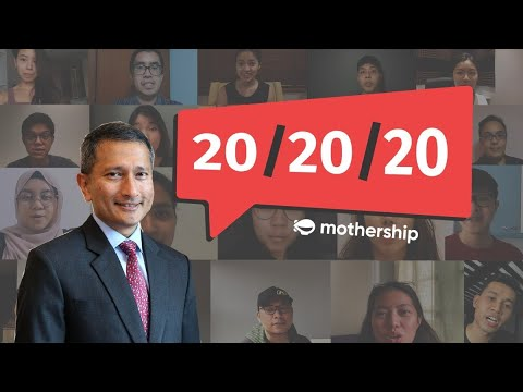 Minister Vivian Balakrishnan on GE2020, meeting Kim Jong Un | 20 Questions by 20 People in their 20s