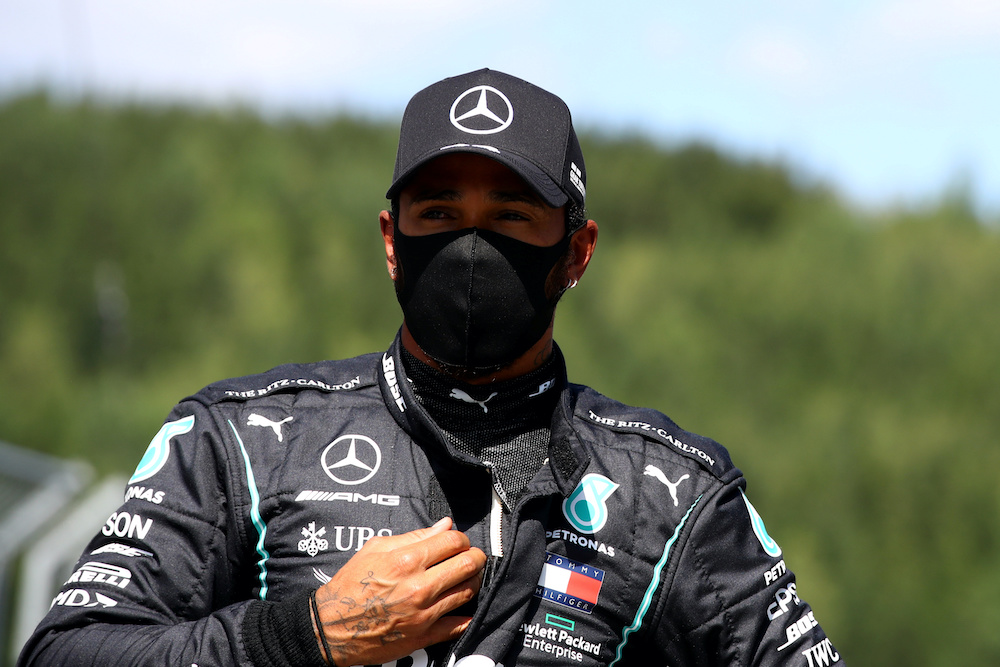 Hamilton says F1 chiefs 'always trying to slow us'