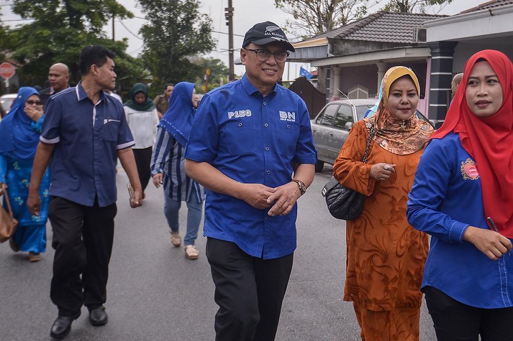 Refusing to apologise, Umno's Puad Zarkashi tells Muhyiddin to go and sue over alleged defamation