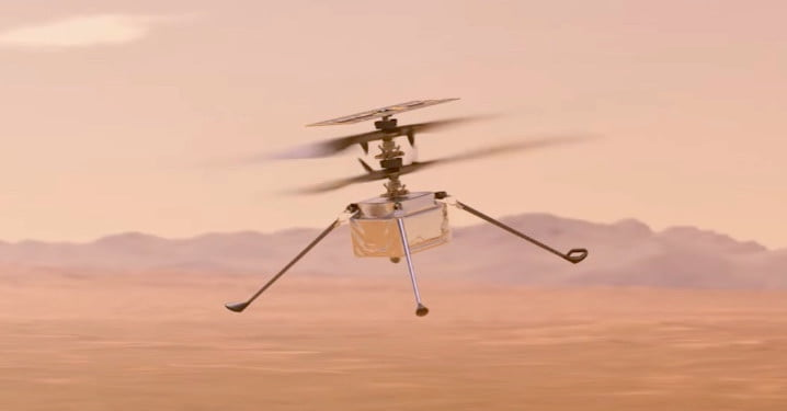 Watch NASA's video showing off its first-ever Mars aircraft
