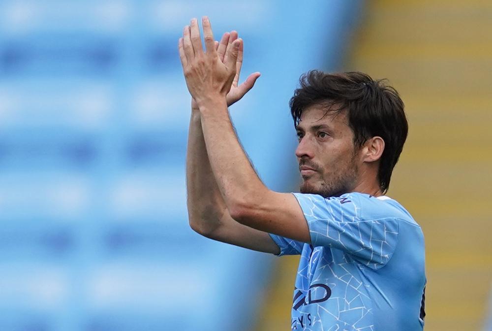 City to unveil Silva, Kompany statues before Arsenal game