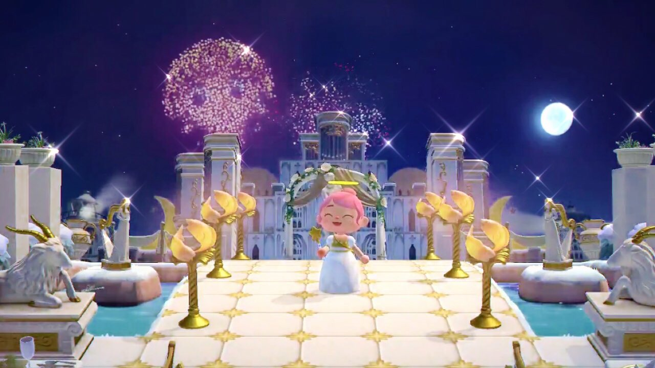 Animal Crossing fans are using fireworks to make great art