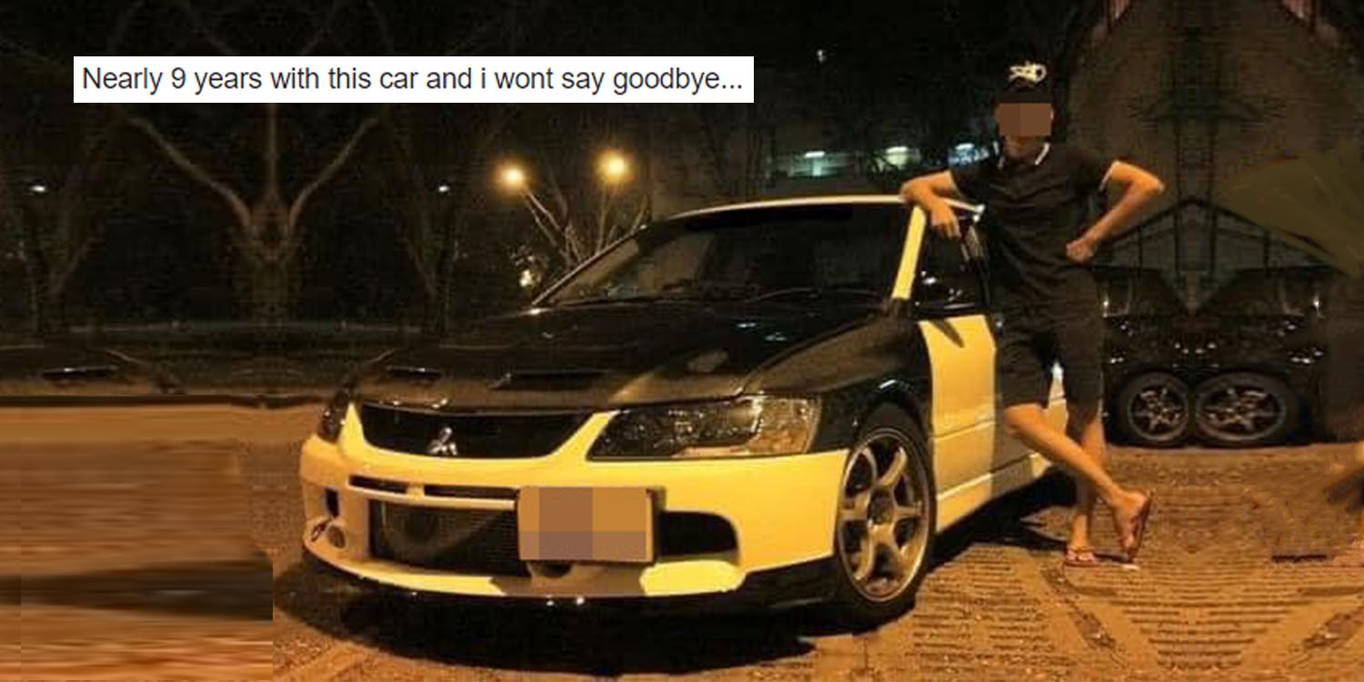 Guy buys s'pore car at age 22, renews coe after 9 years as he loves his ride