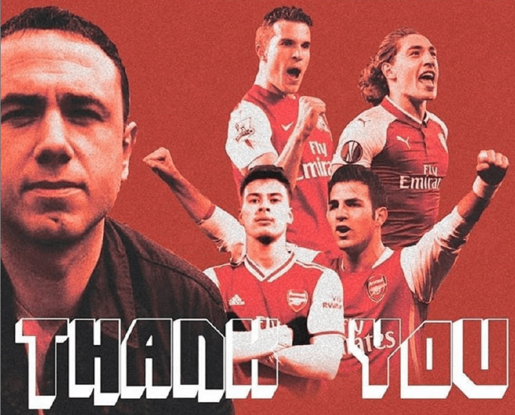 Cesc Fabregas sends class message to axed Arsenal talent spotter Francis  Cagigao | Nestia