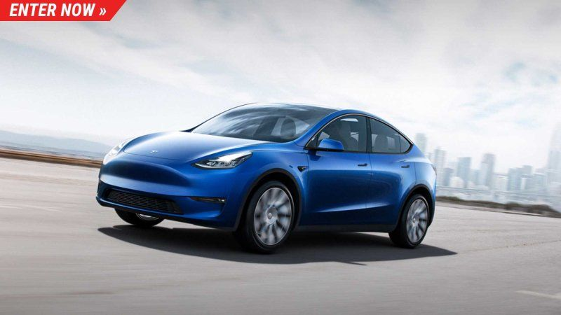 Now's your chance to win a Tesla Model Y Performance