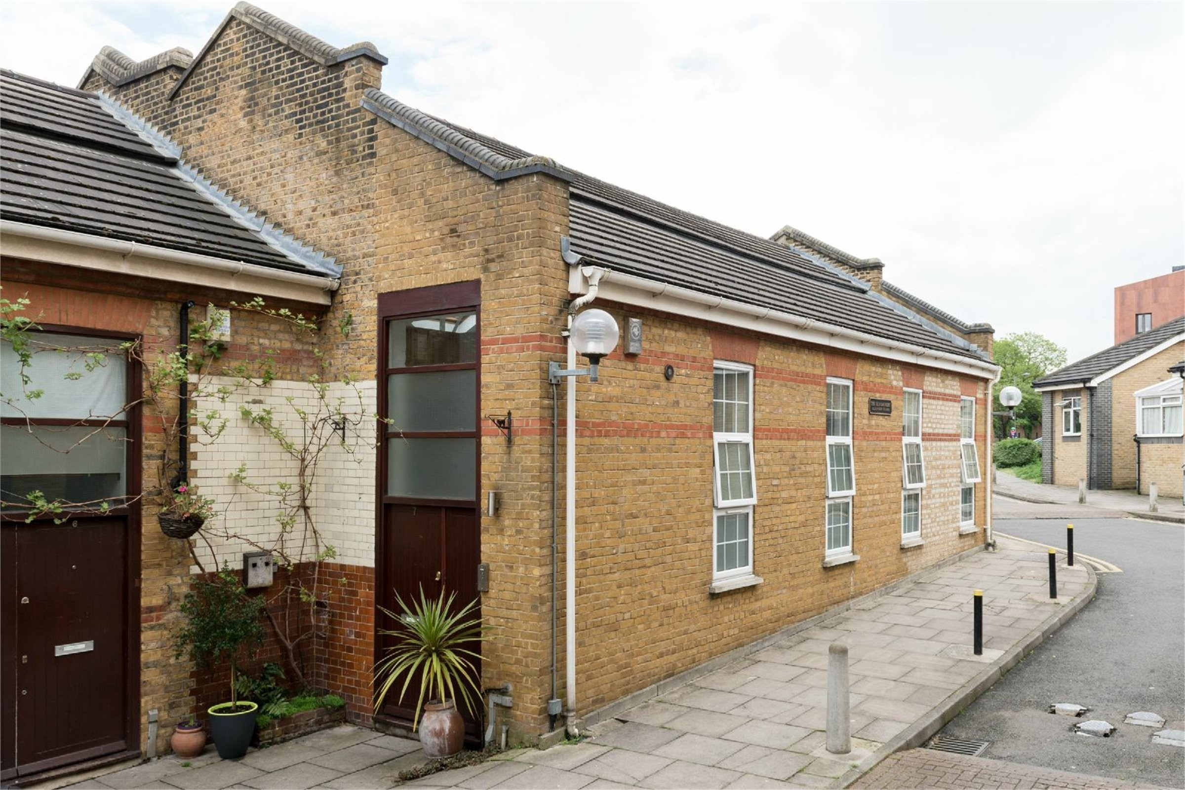 Unassuming building hides former photography studio, transformed into a two-bed house and now on the market for £1.35million