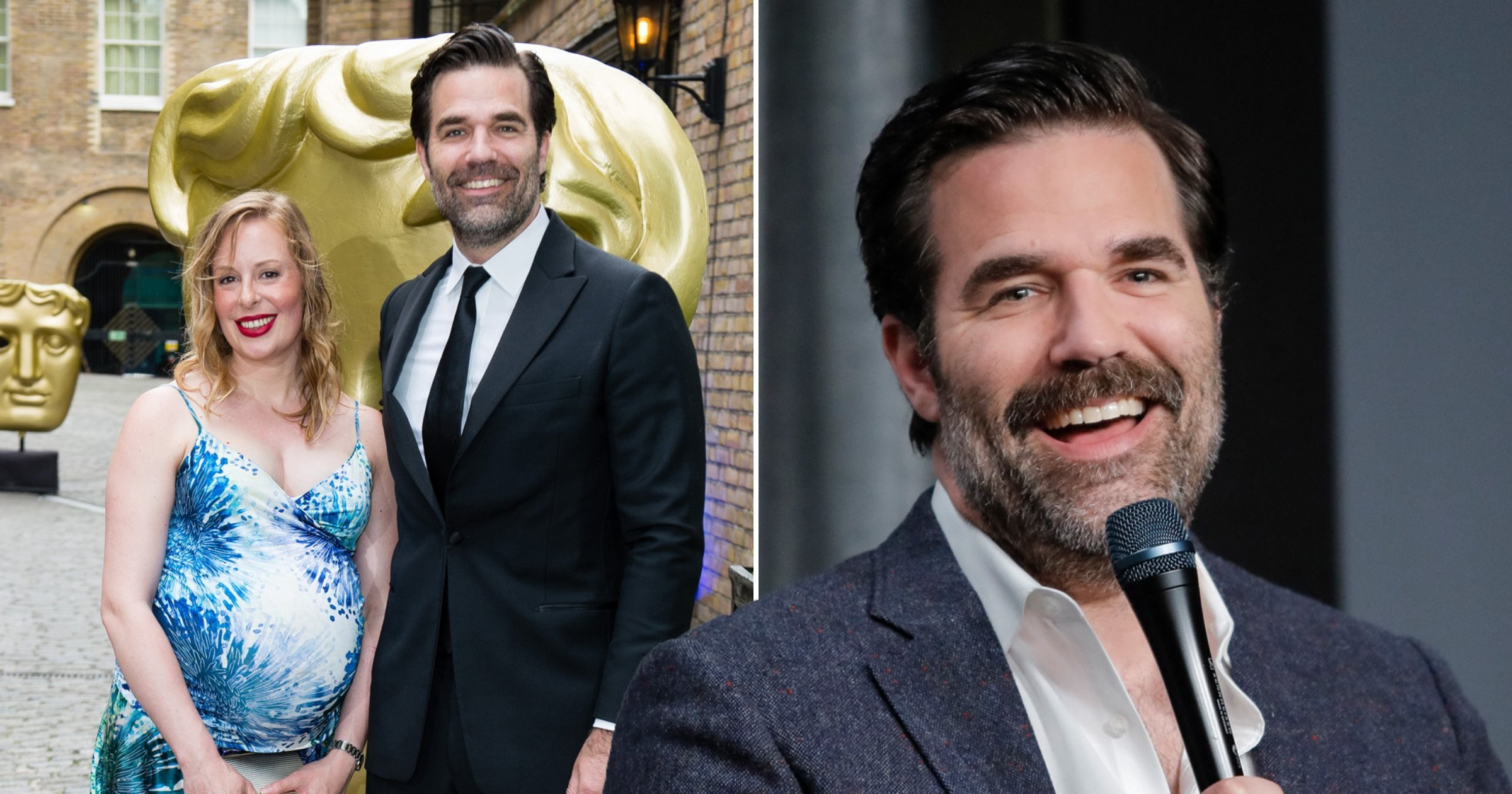 Rob Delaney says a vasectomy was 'the least he could do' after his wife gave birth to four kids