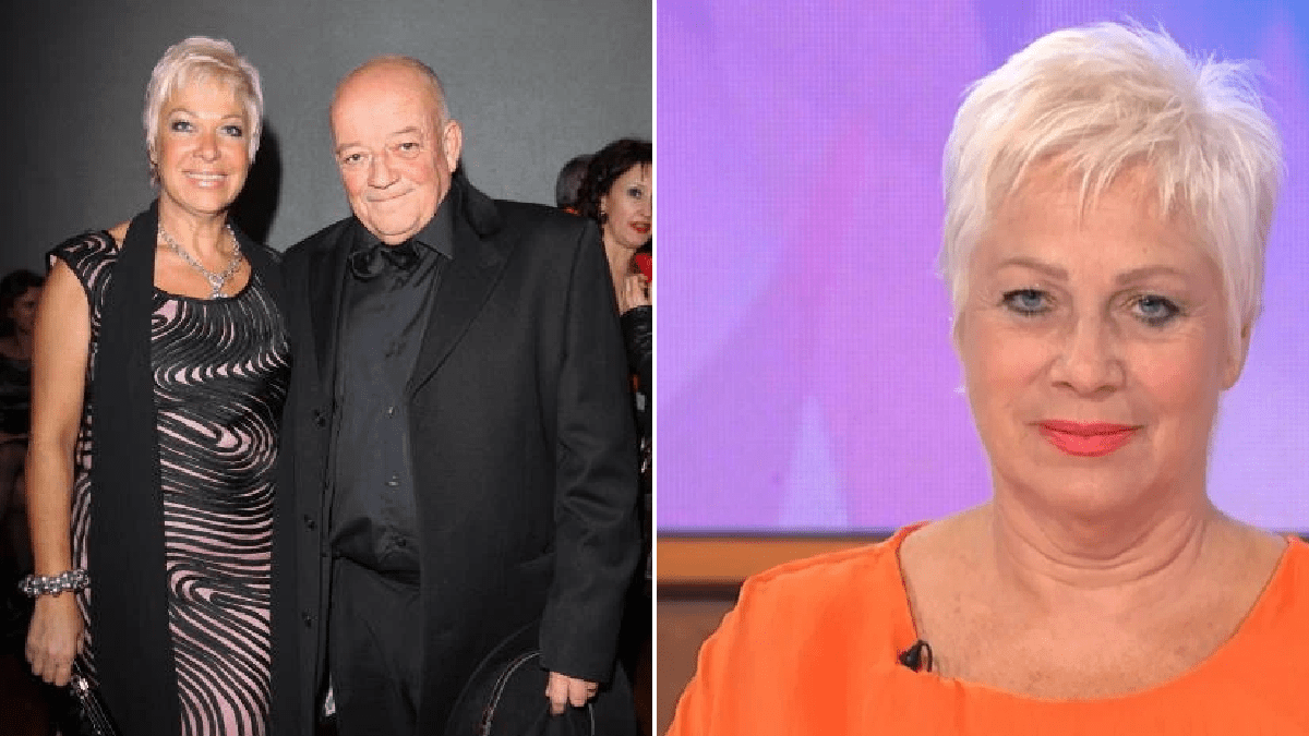 Denise Welch's ex-husband Tim Healy hits back after she confesses to cheating on him