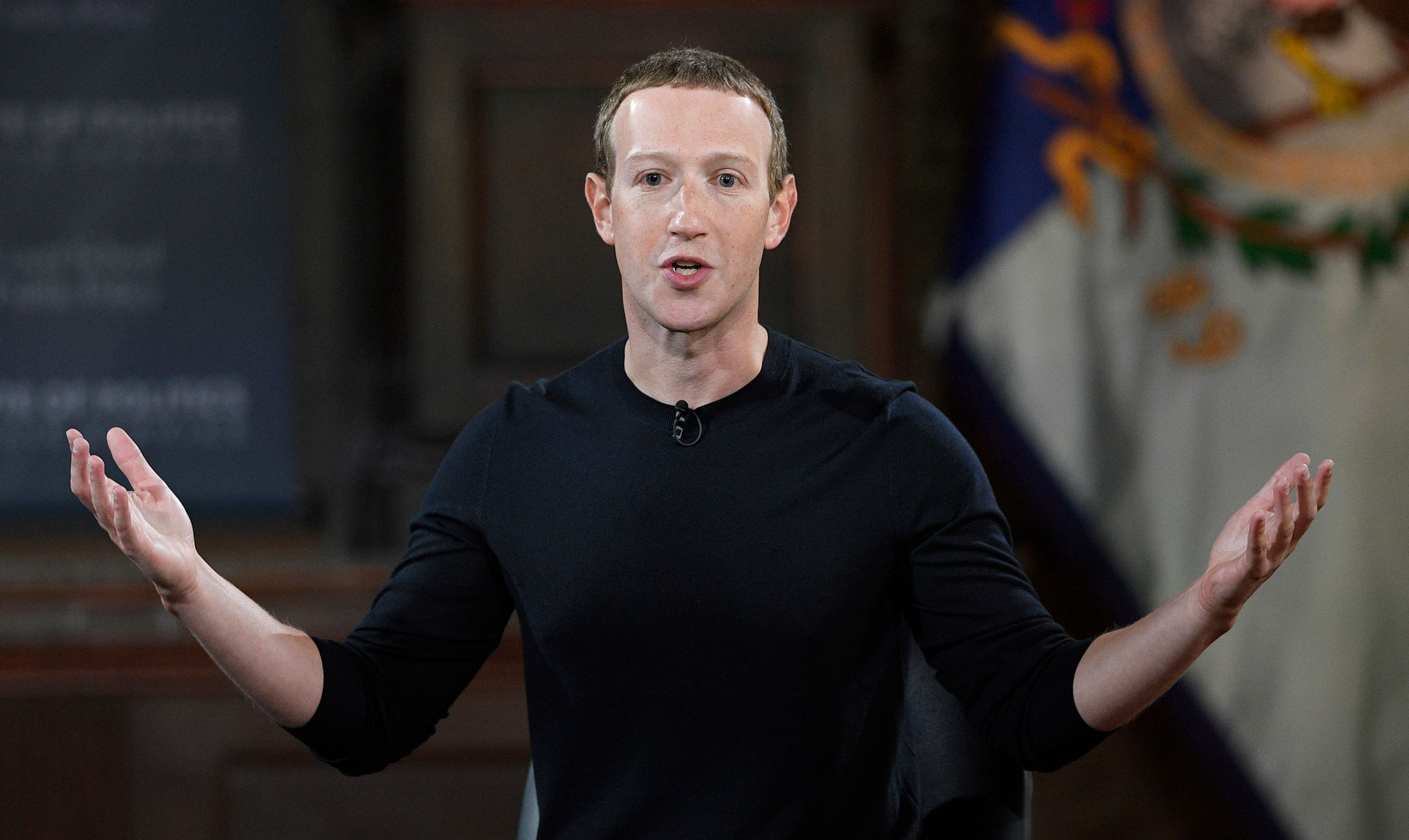 Mark Zuckerberg has defended Facebook's decision to let politicians lie in ads