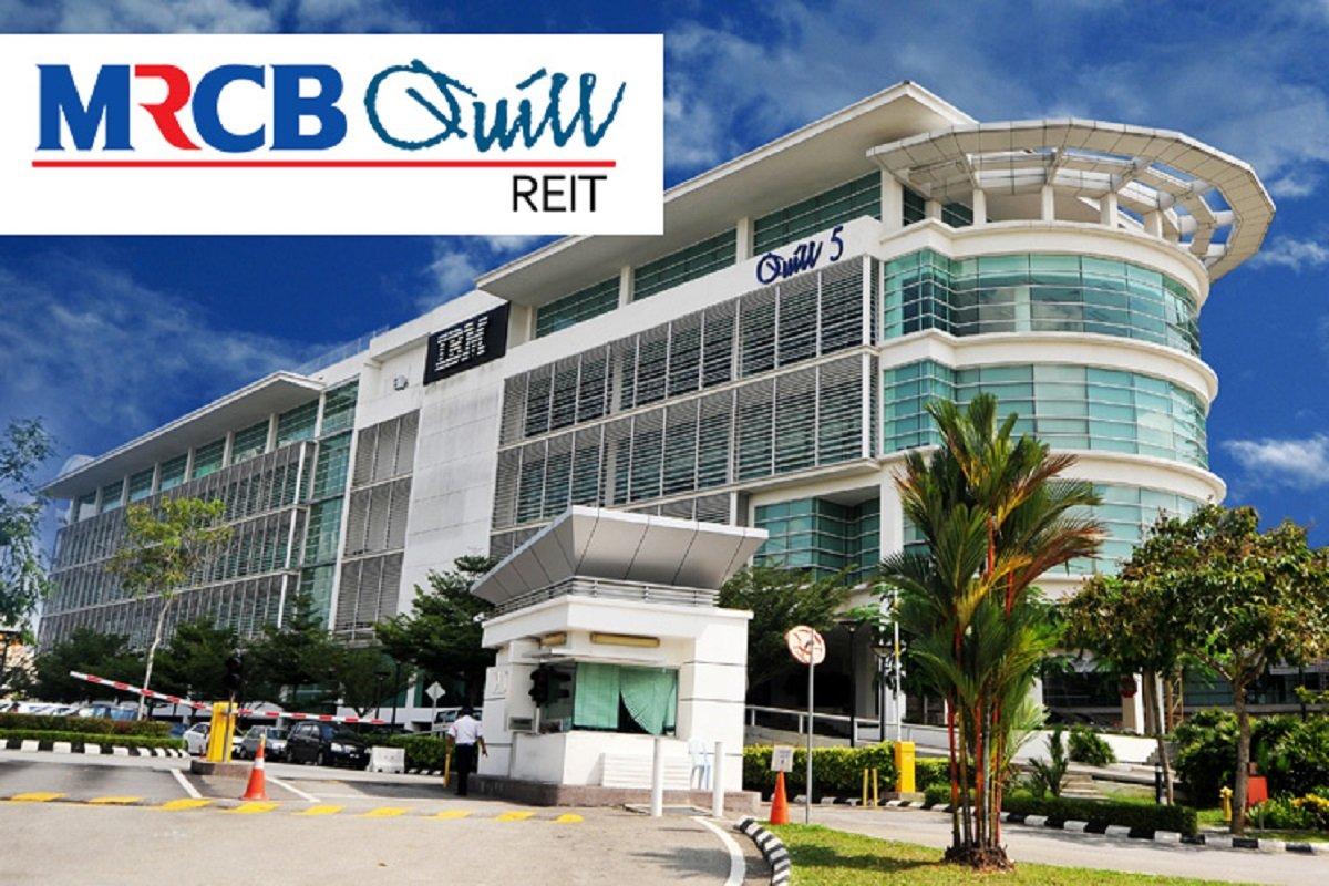MRCB-Quill REIT 2Q net profit up 16% to RM19.08m, declares 3.43 sen DPU