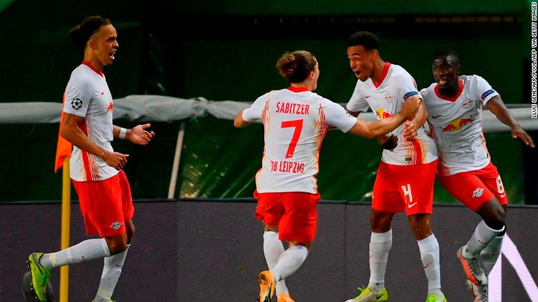 US youngster Tyler Adams helps fire RB Leipzig into the Champions League semifinals