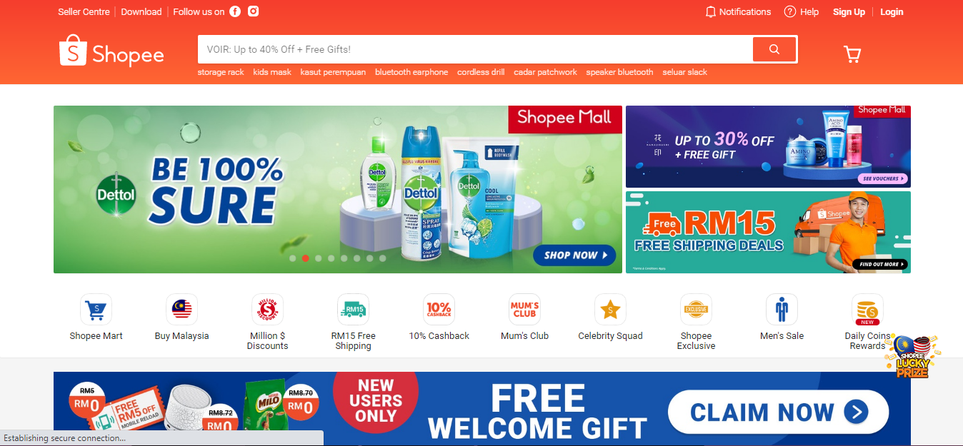 Shopee sees 300pc jump in orders from Jan-June 2020