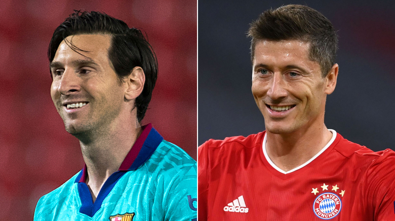 Lionel Messi meets Robert Lewandowski as Barcelona faces Bayern Munich in a clash of titans
