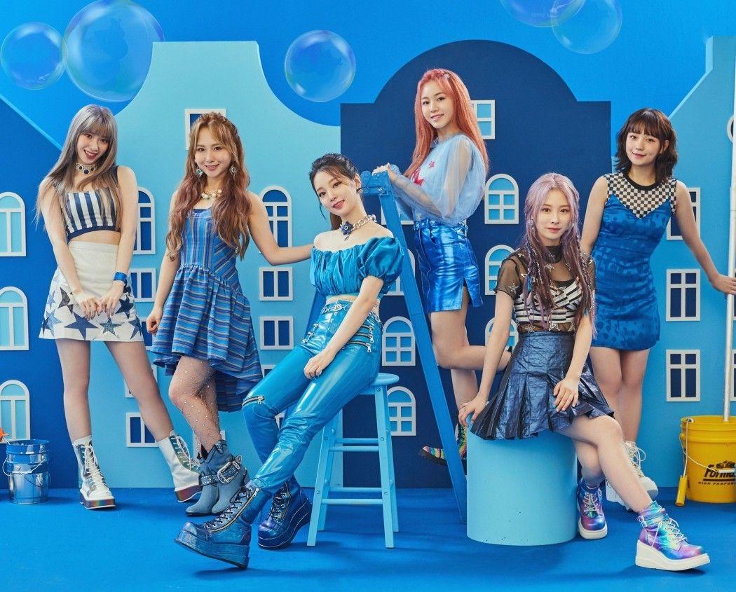 K-pop rookie girl group Rocket Punch eyes the No.1 spot