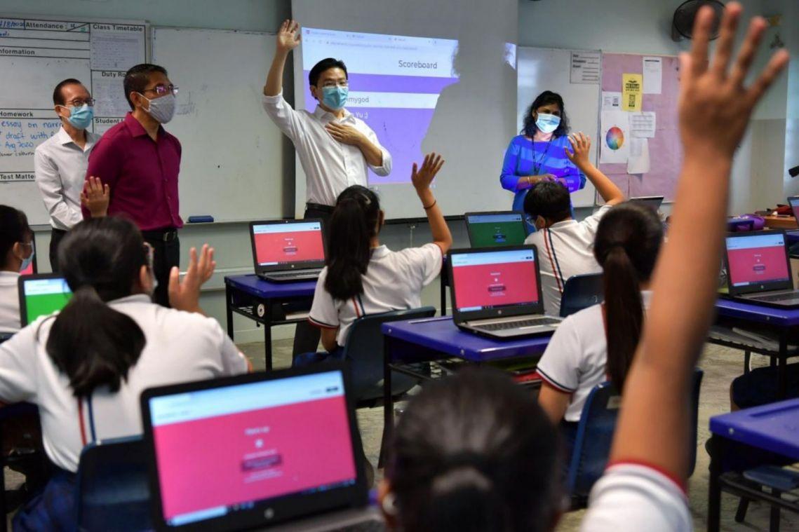 MOE to build on making education a social leveller amid coronavirus pandemic, says Lawrence Wong