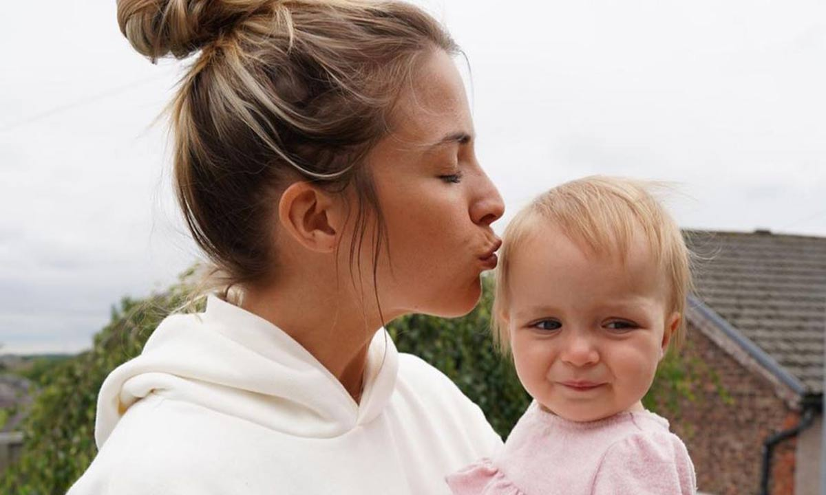 Gemma Atkinson sparks reaction with picture of Gorka Marquez and daughter Mia