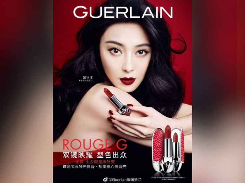 Fan Bingbing returns as Guerlain's spokesperson