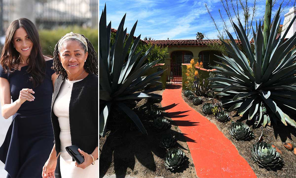 Meghan Markle's mother Doria Ragland's home looks like a Spanish Casa