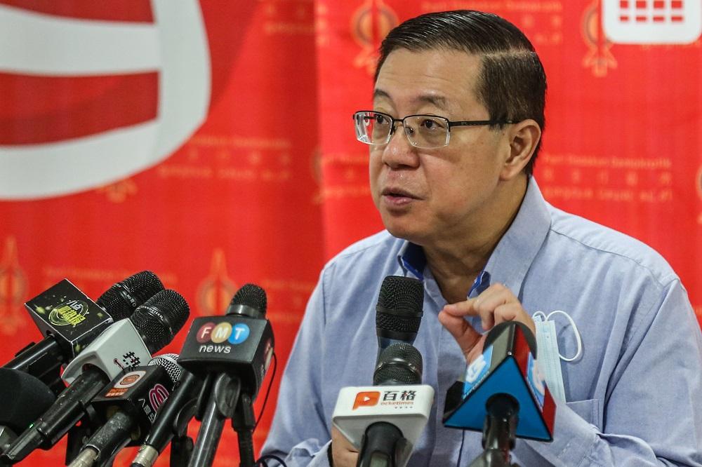 Cops to quiz Guan Eng over Pakatan's statement on Emergency declaration