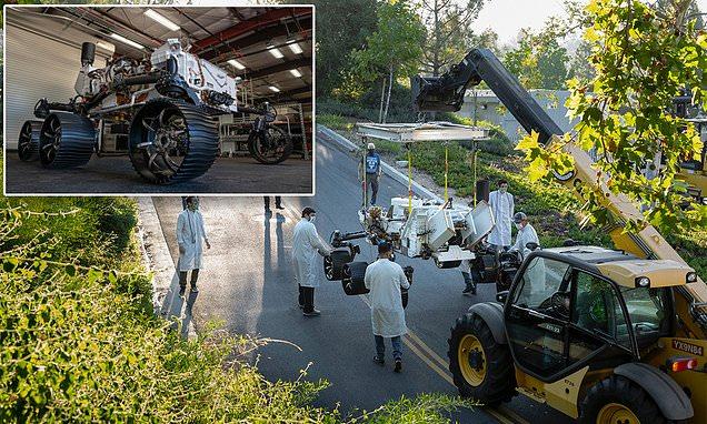 Meet Optimism! NASA tests drives Perseverance's twin on Earth