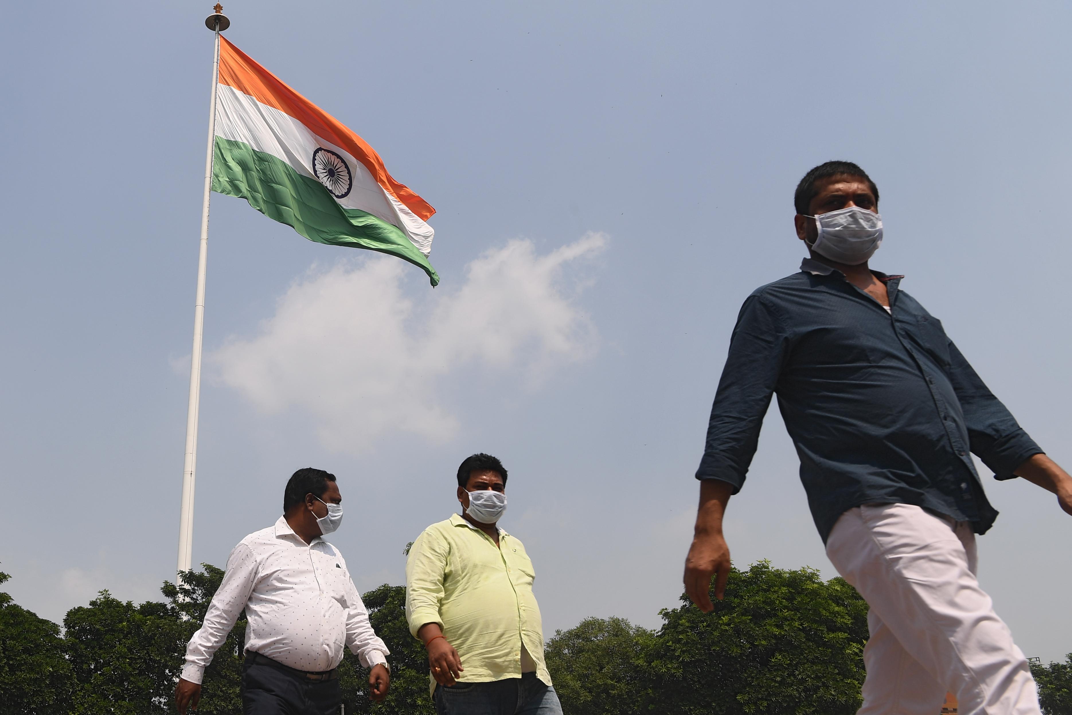 【冠状病毒19】印度新增逾8万9000起病例 创半年来新高