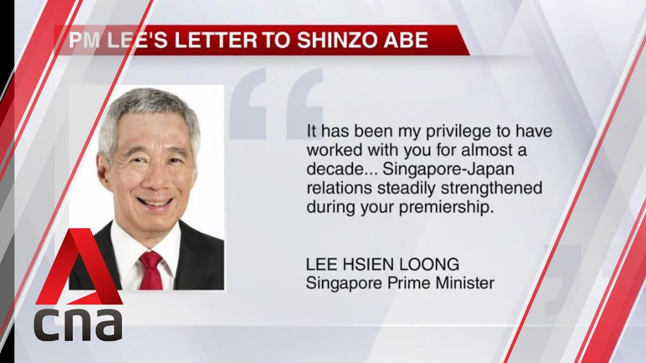 PM Lee congratulates new Japanese premier Yoshihide Suga