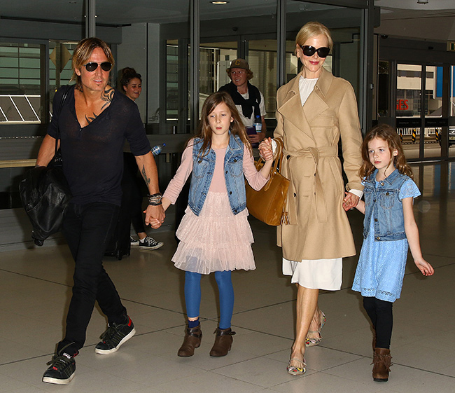Nicole Kidman and Keith Urban joined by very special guest on night out