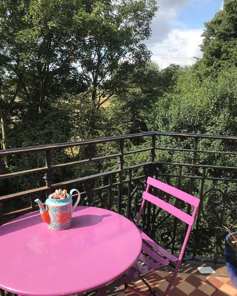 GBBO's Noel Fielding's quirky private garden revealed