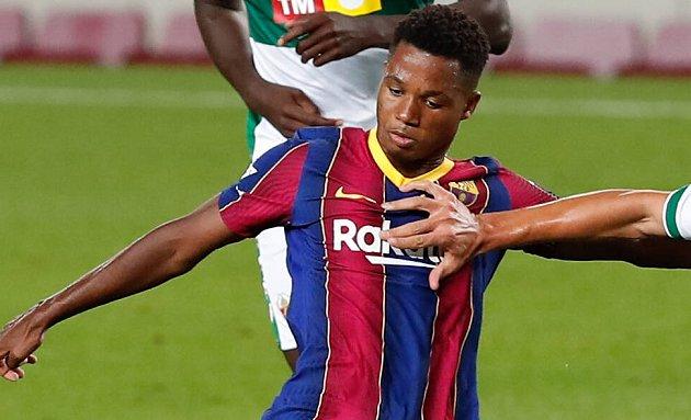Man Utd raised Fati while in Mendes talks for Ronaldo