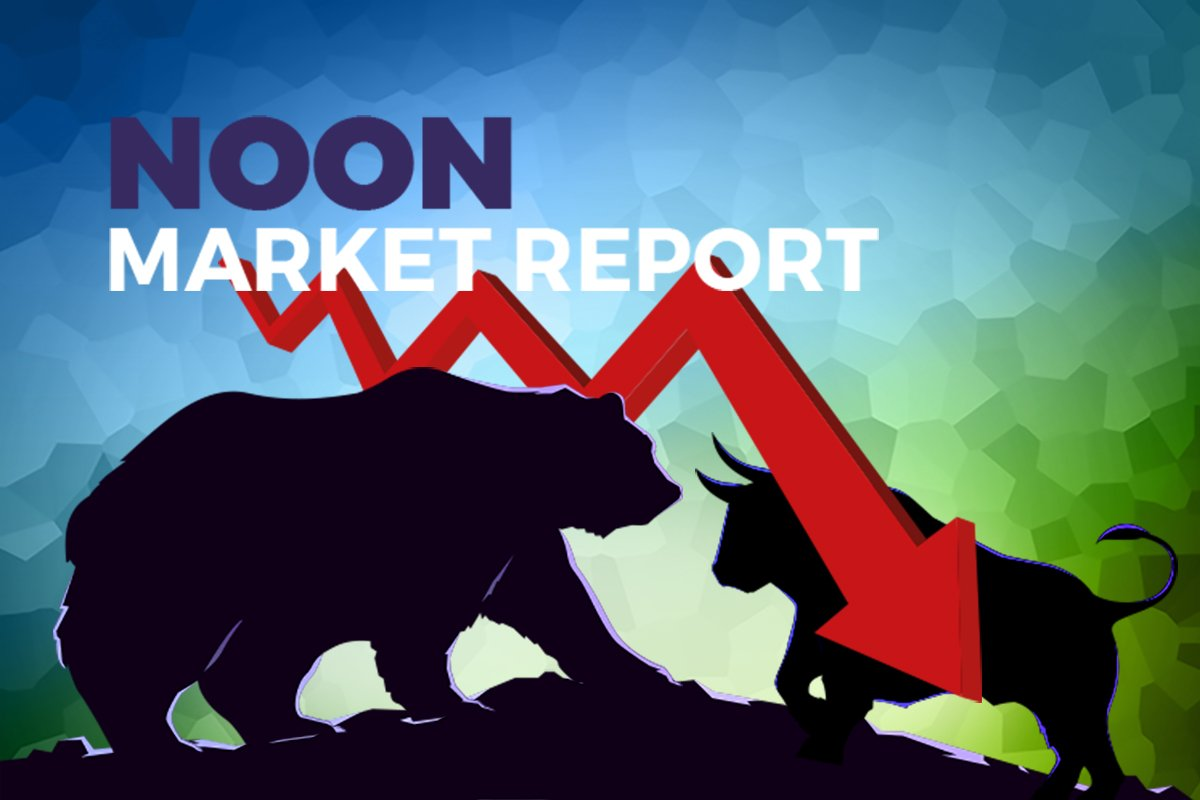 KLCI ends morning session lower on lack of buying sentiment