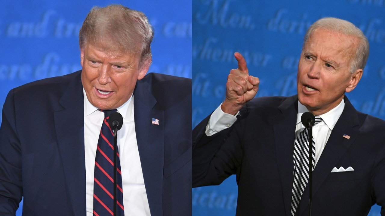 Donald Trump says he won't take part in virtual debate with Joe Biden
