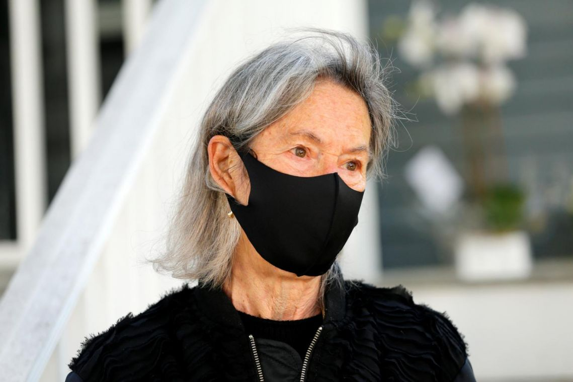 US poet Louise Glück, winner of this year's Nobel Prize in Literature, praised for 'minimalist voice'