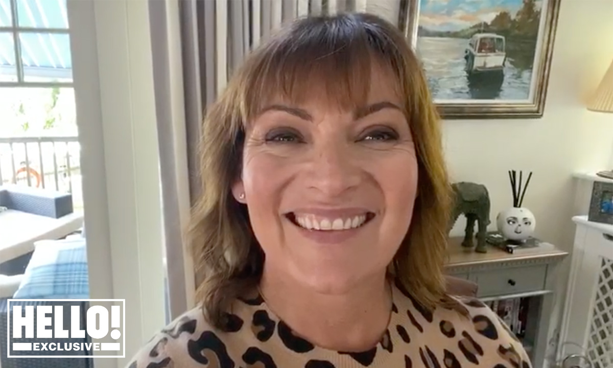 Lorraine Kelly lets her hair down and shows off fun dance moves
