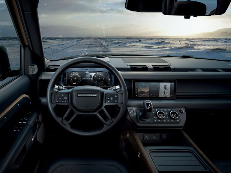 The 2020 Land Rover Defender is going off-road, and upmarket