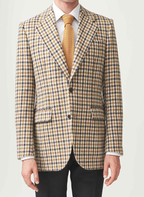 The Classic Gun-Club Check Has a Whole New Vibe This Fall
