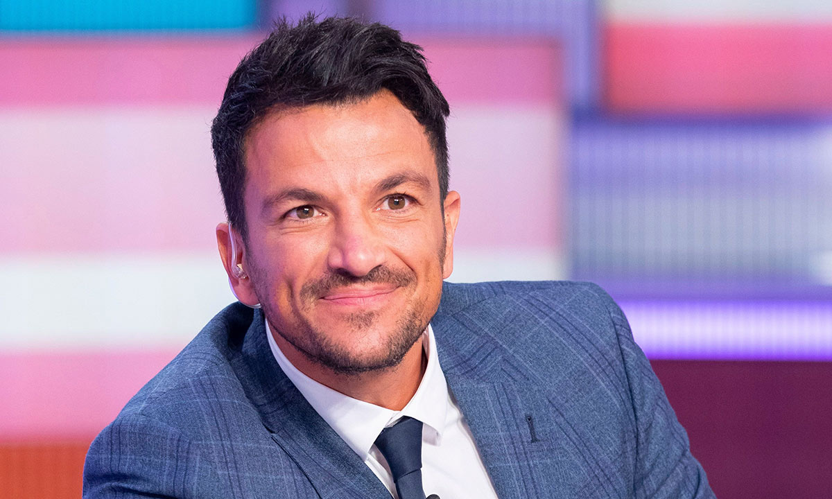 Peter Andre unveils the most incredible home gym!