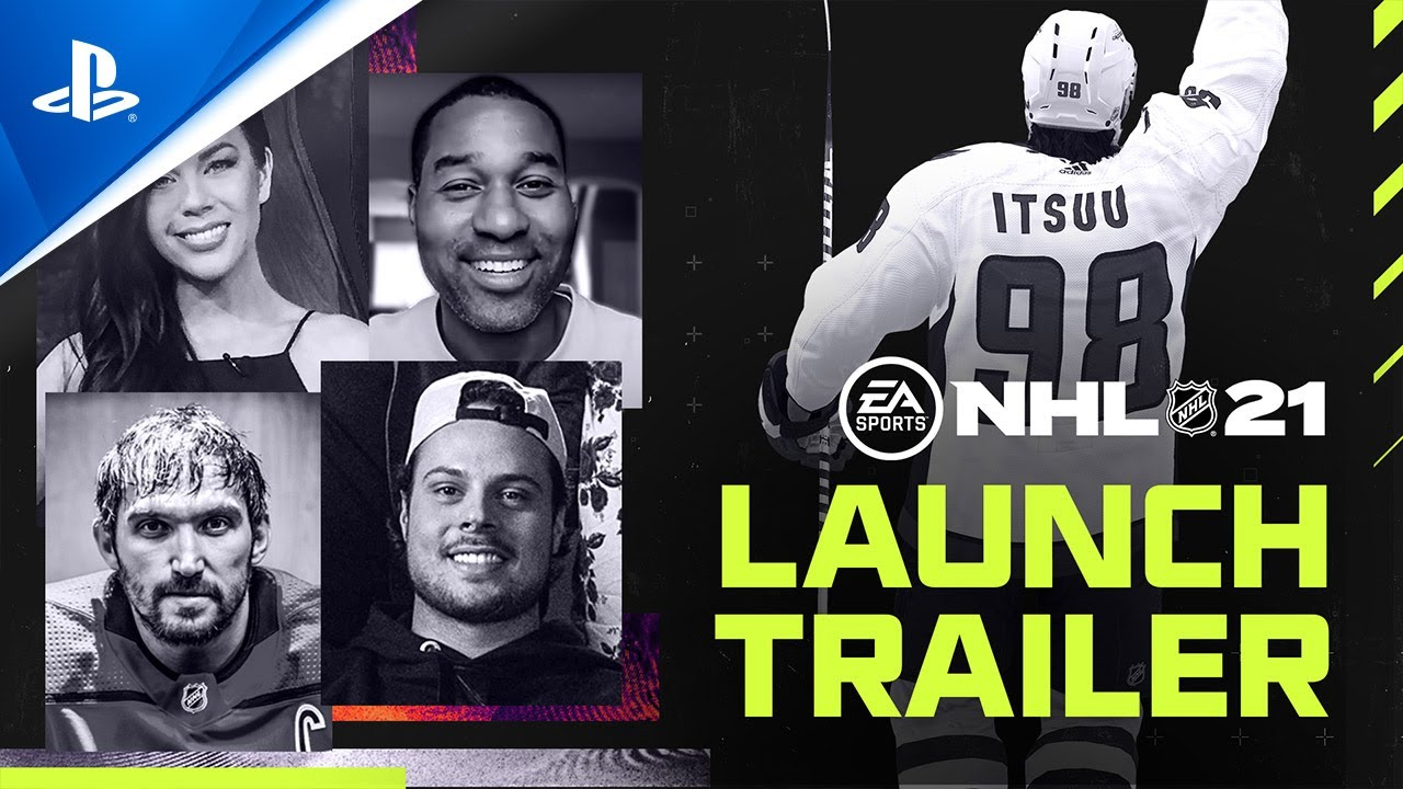 NHL 21 - Official Worldwide Launch Trailer | PS4