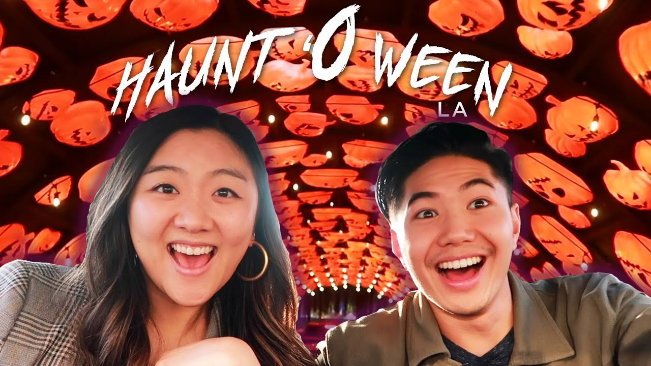 We Went To A Drive-Thru Trick-Or-Treat Experience | Hauntoween